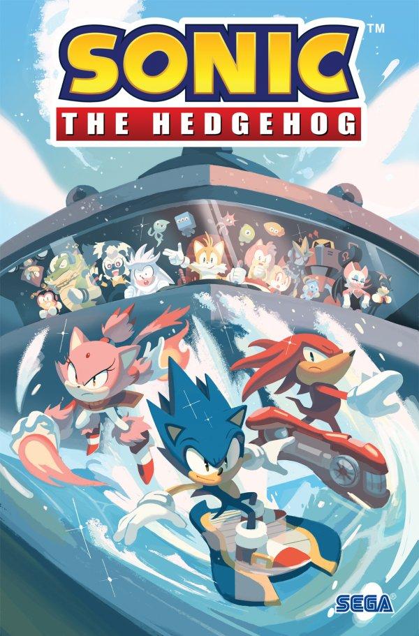 Sonic The Hedgehog Vol. 3 Battle For Angel Island TP