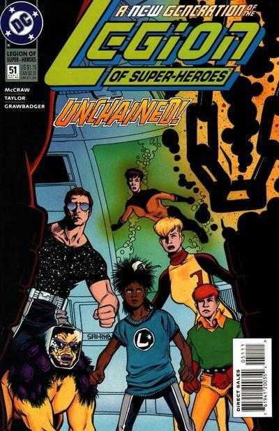 Legion of Super-Heroes #51