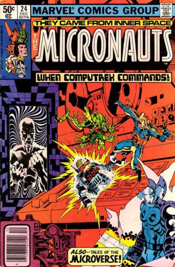 Micronauts #24