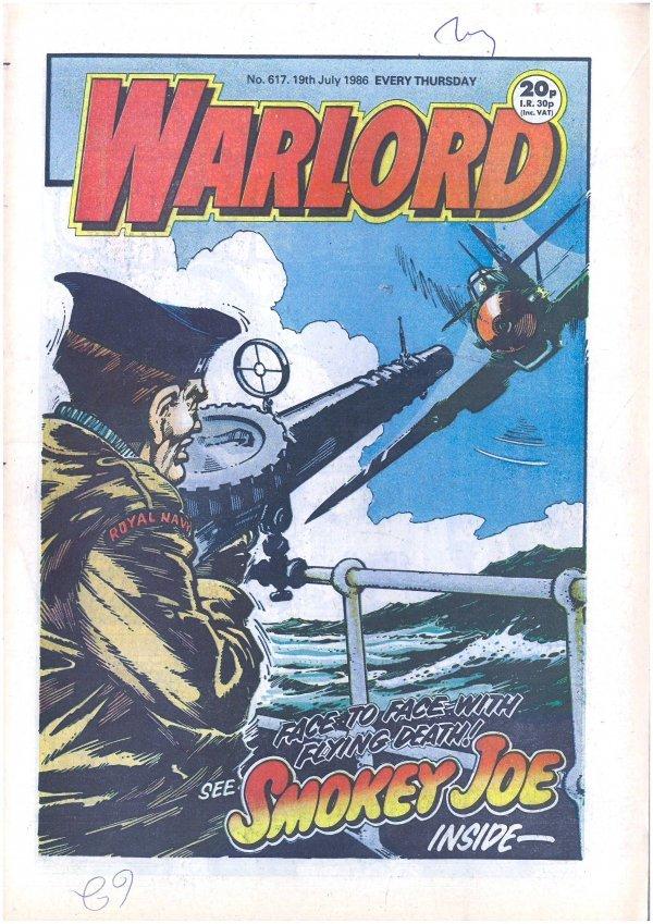 Warlord #617