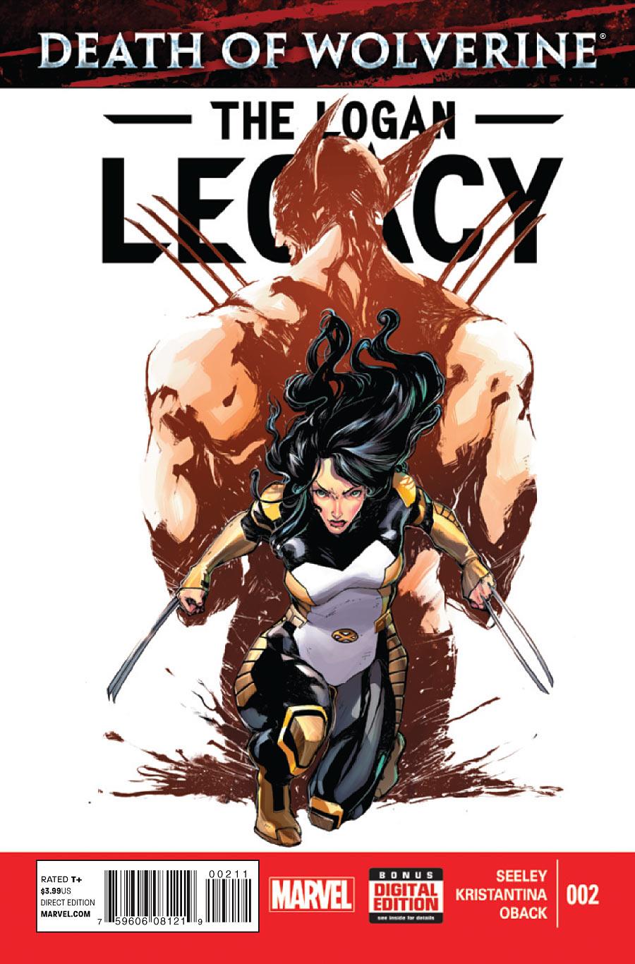 Death of Wolverine: The Logan Legacy #2