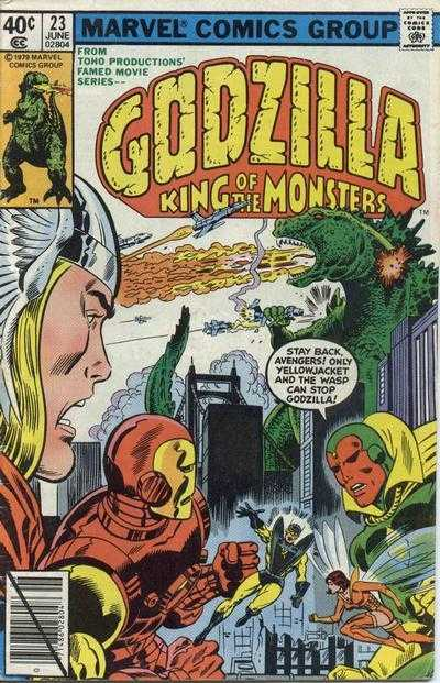 Godzilla: King of the Monsters #23