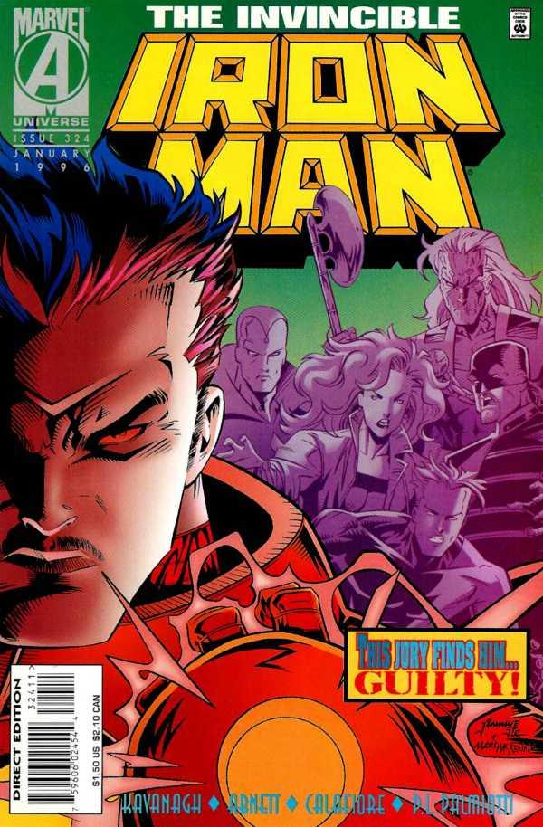 Iron Man #324