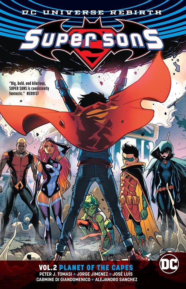Super Sons Vol. 2: Planet of the Capes TP