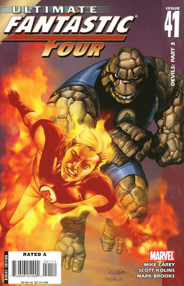 Ultimate Fantastic Four #41