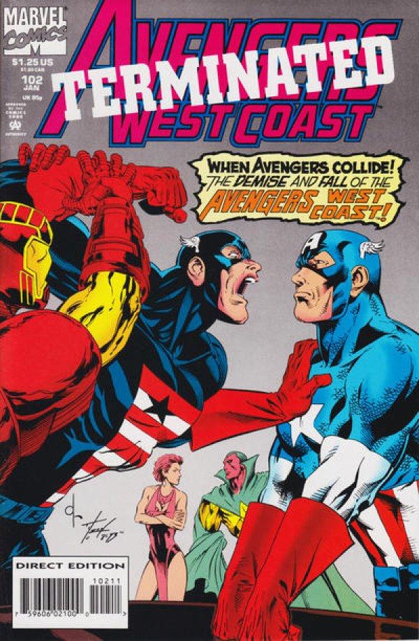 Avengers West Coast #102