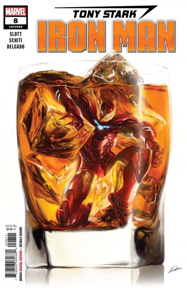 The Boss Level (Tony Stark Iron Man #8 Comic Review) - On Comics Ground