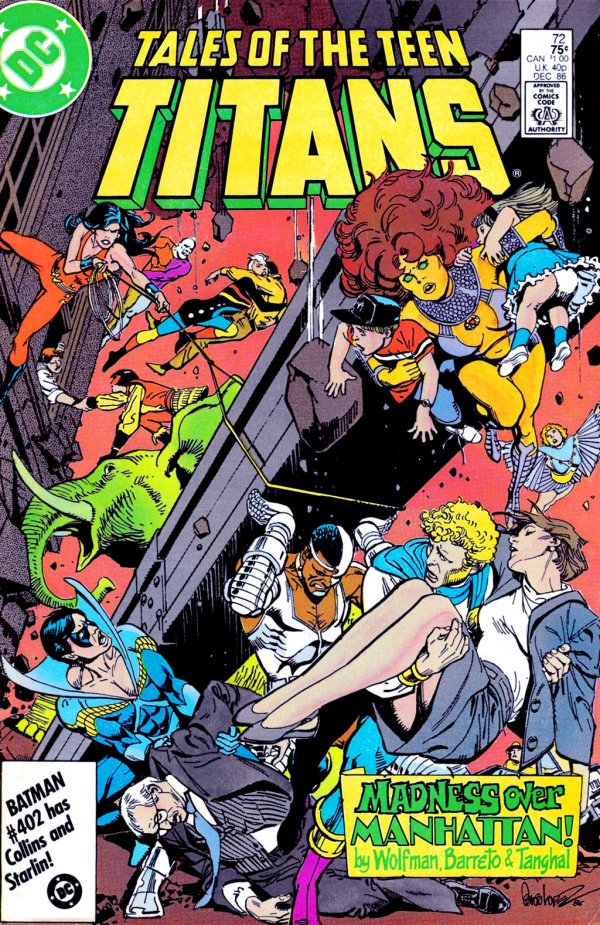 Tales of the Teen Titans #72