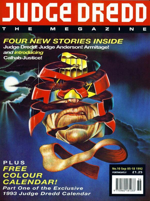 Judge Dredd: The Megazine #10