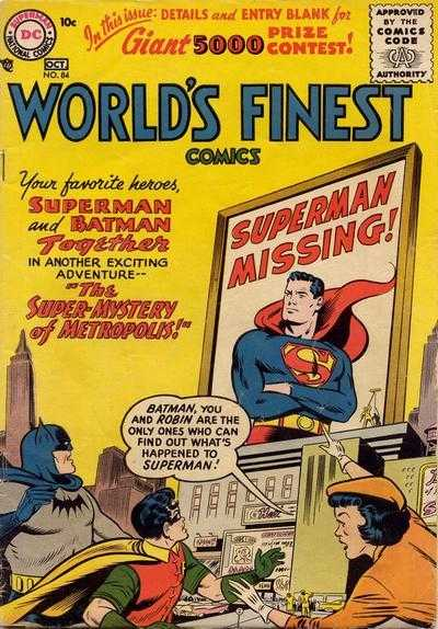 World's Finest Comics #84