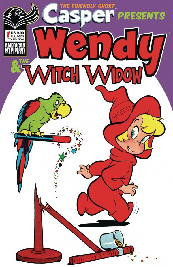 Casper the Friendly Ghost Presents: Wendy & The Witch Window #1