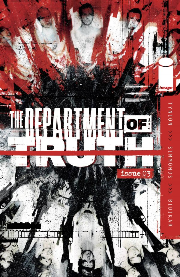 DEPARTMENT OF TRUTH #4 1:10 VARIANT SET OF 3 TYNION SIMMONDS IMAGE COMIC 12//23