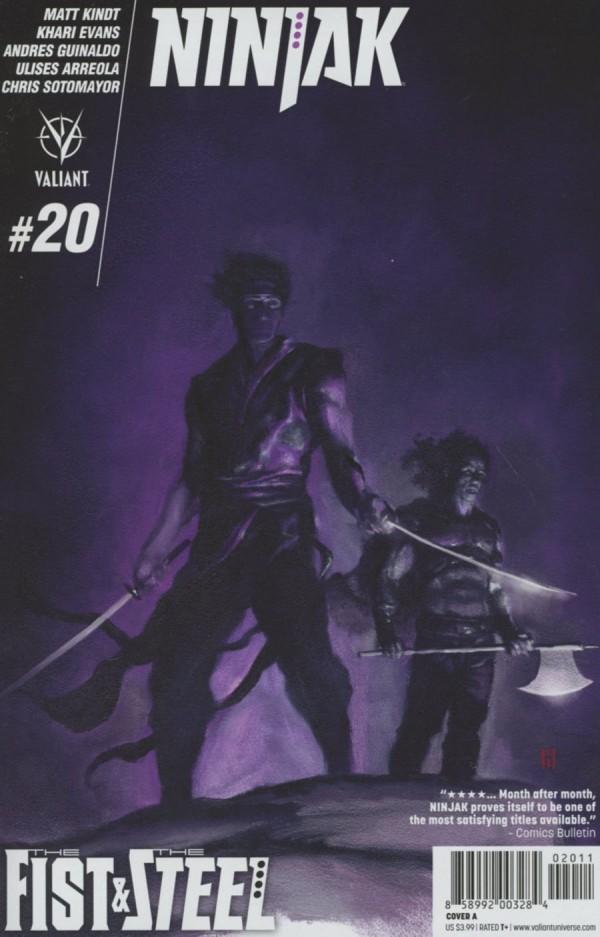 Ninjak #20