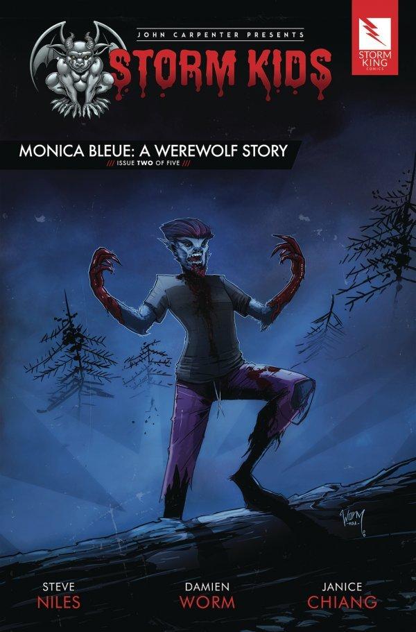 John Carpenter Presents Storm Kids: A Monica - Bleue Werewolf Story #2