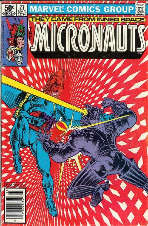 Micronauts #27