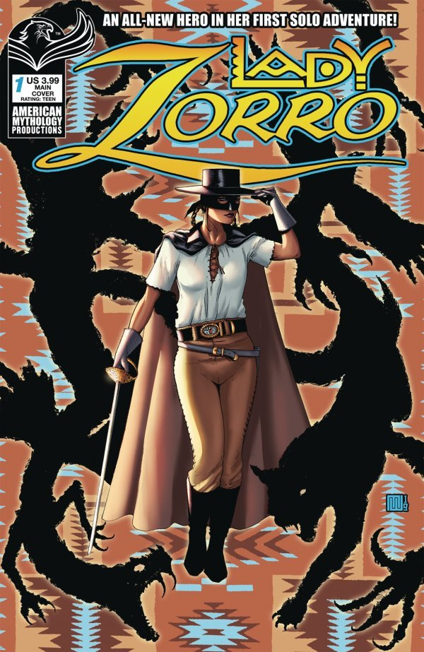 Lady Zorro #1 review