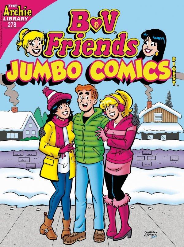 B & V Friends Comics Double Digest #278