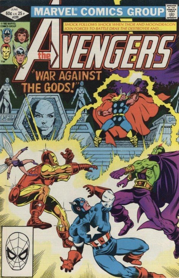 The Avengers #220