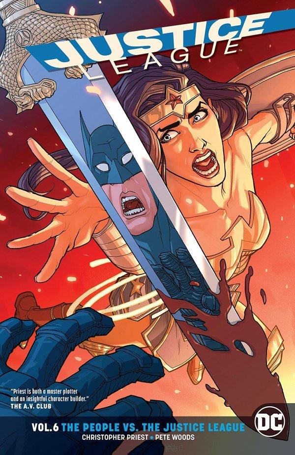 Justice League Vol. 6: The People Vs. The Justice League TP