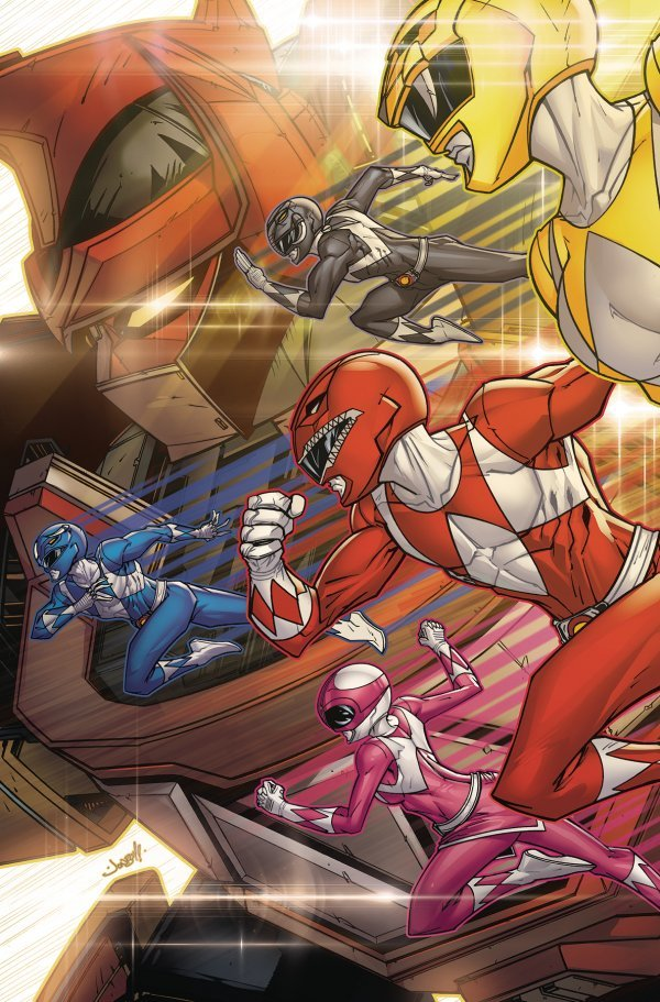 Go Go Power Rangers: Back to School #1