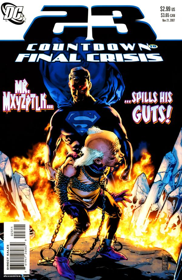 Countdown to Final Crisis #23