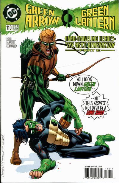 Green Arrow #110