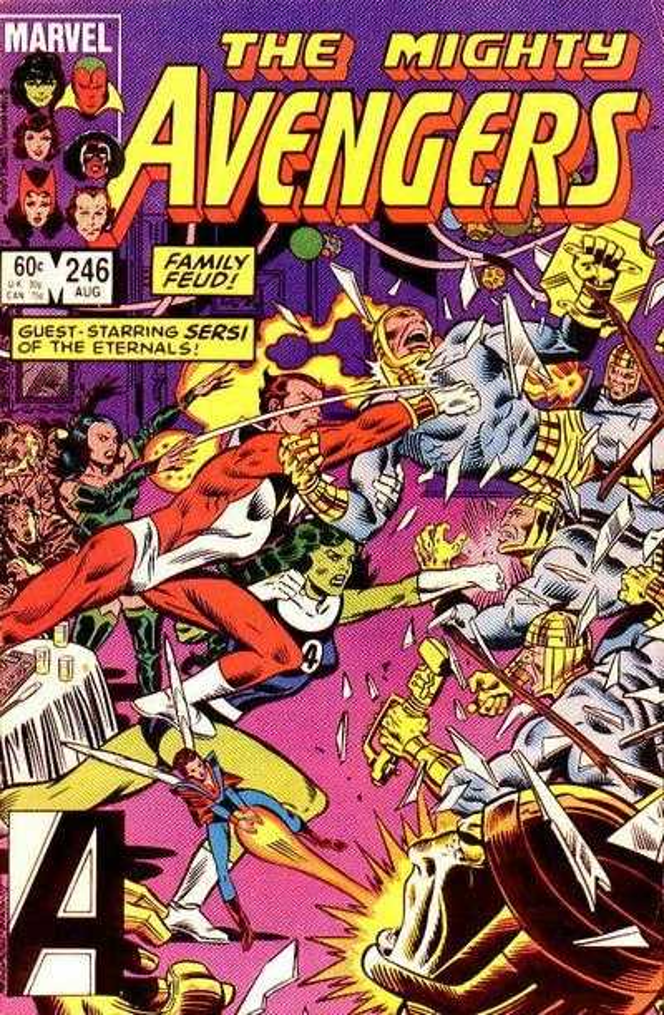 The Avengers #246