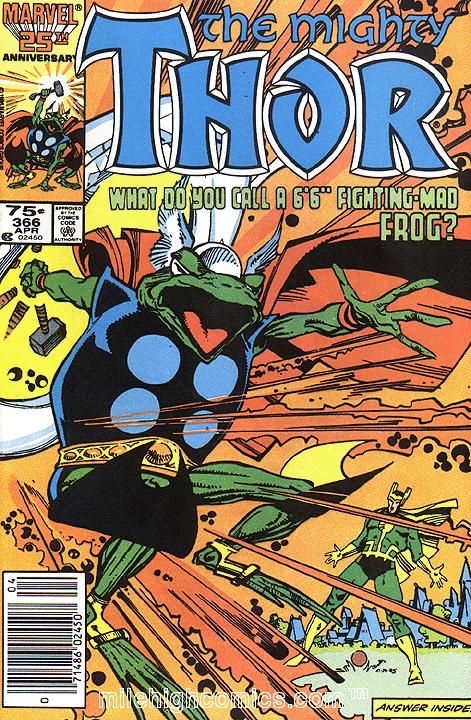 The Mighty Thor #366