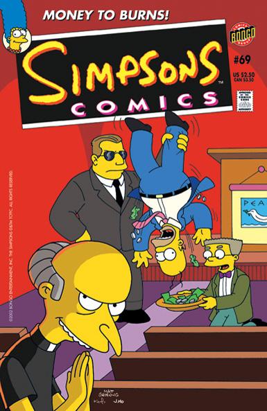 Simpsons Comics #69