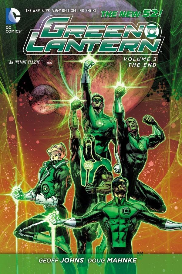 Green Lantern Vol. 3: The End HC