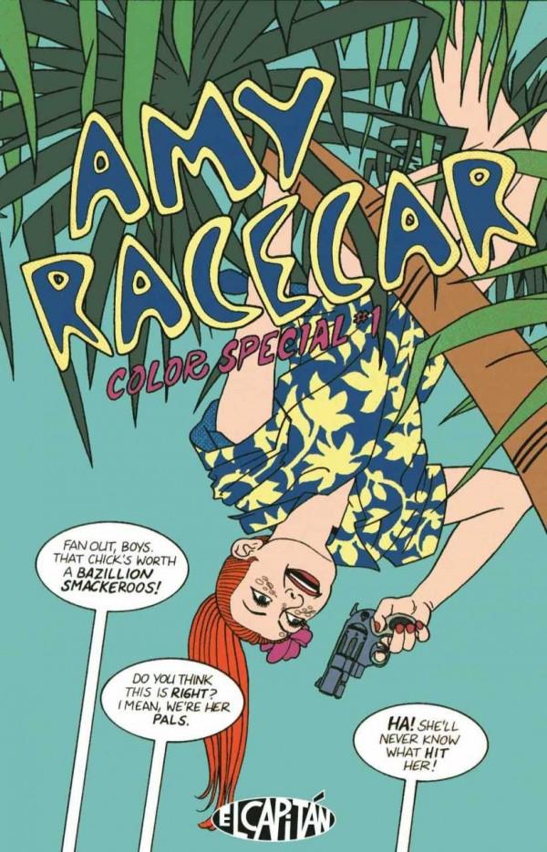 Amy Racecar Color Special #1