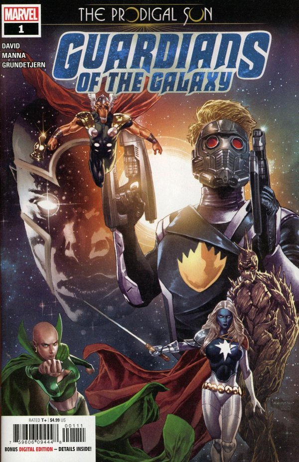 Guardians of the Galaxy: Prodigal Sun #1
