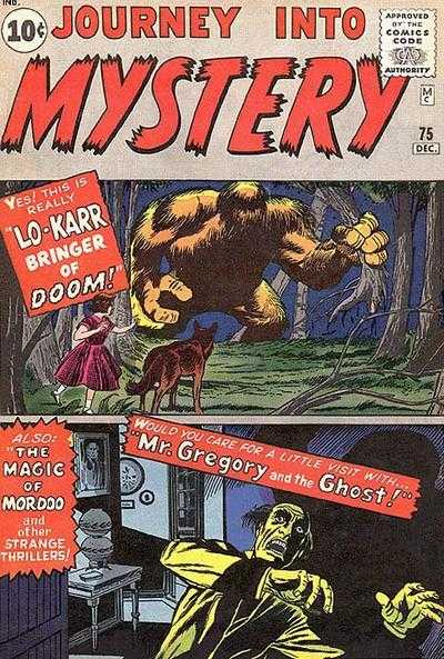 Journey into Mystery #75