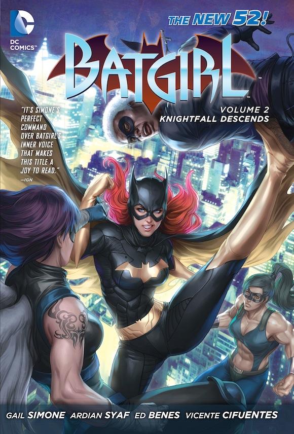 Batgirl Vol. 2: Knightfall Descends TP