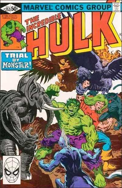 The Incredible Hulk #253
