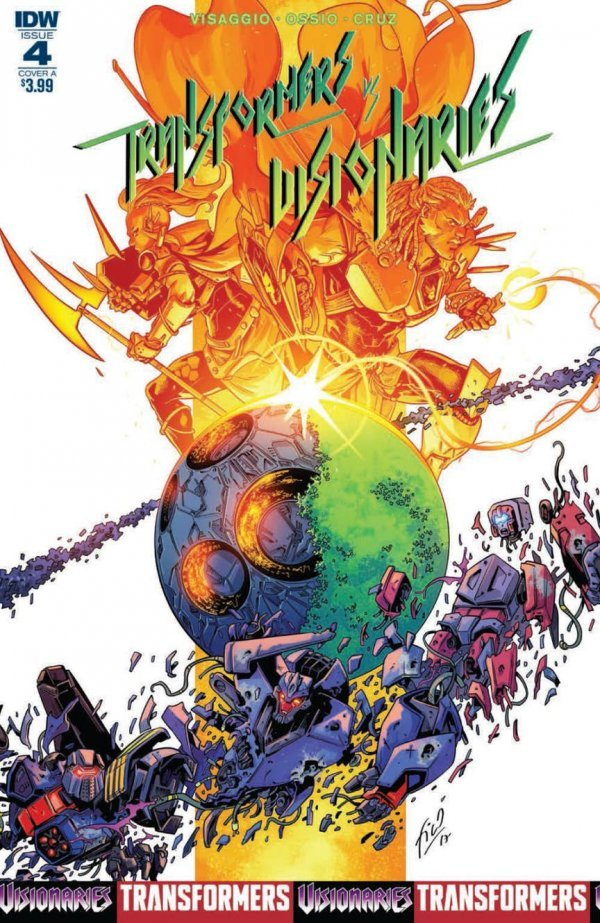 Transformers Vs. The Visionaries #4