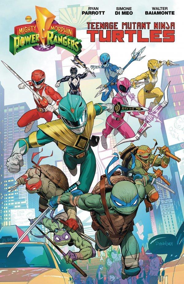 Mighty Morphin Power Rangers / Teenage Mutant Ninja Turtles TP