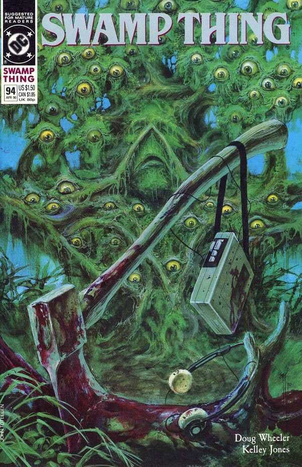 The Saga of the Swamp Thing #94