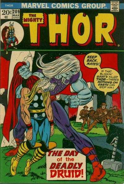 The Mighty Thor #209