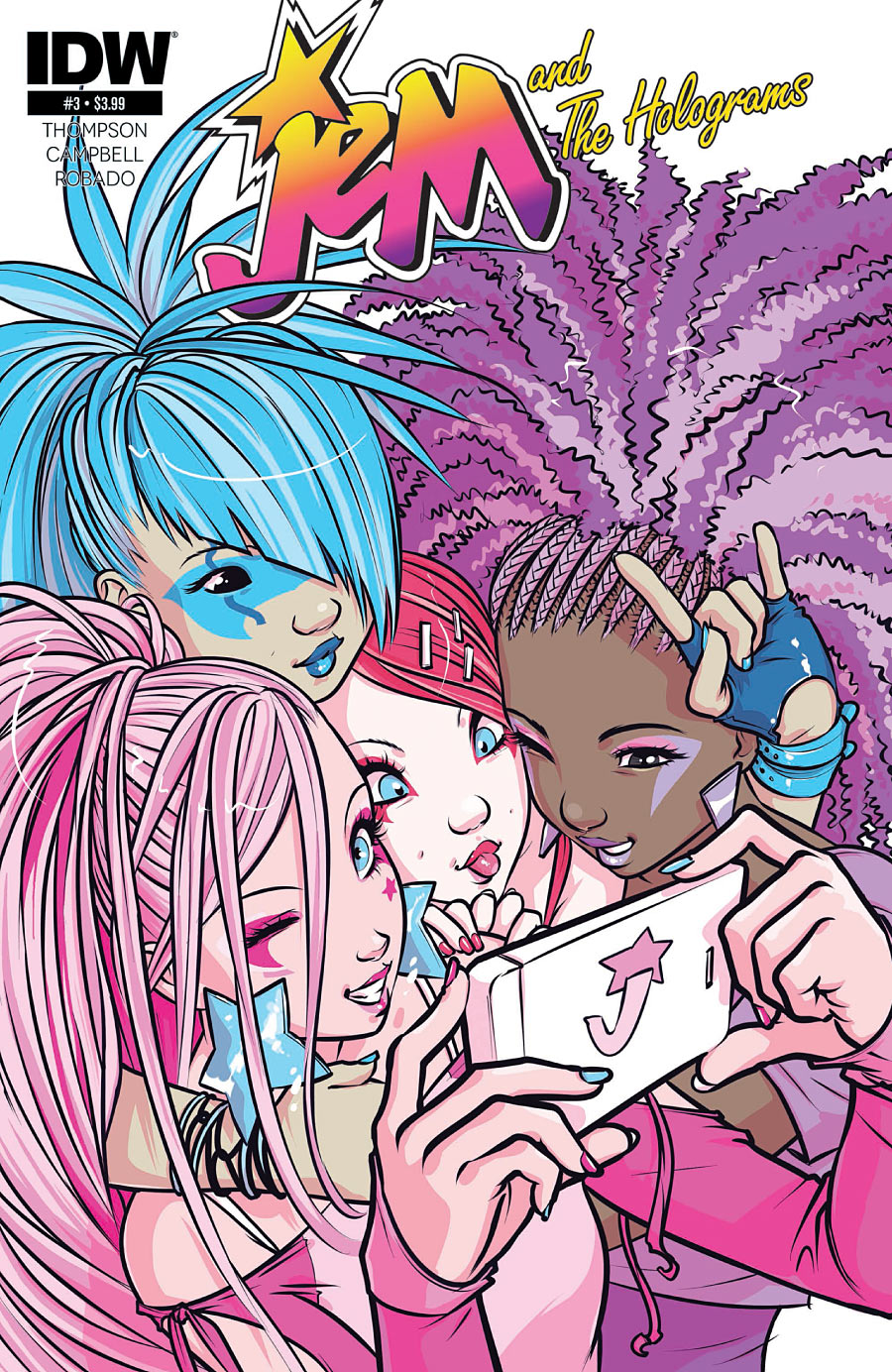 Jem and The Holograms #3