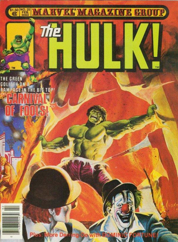The Rampaging Hulk #25