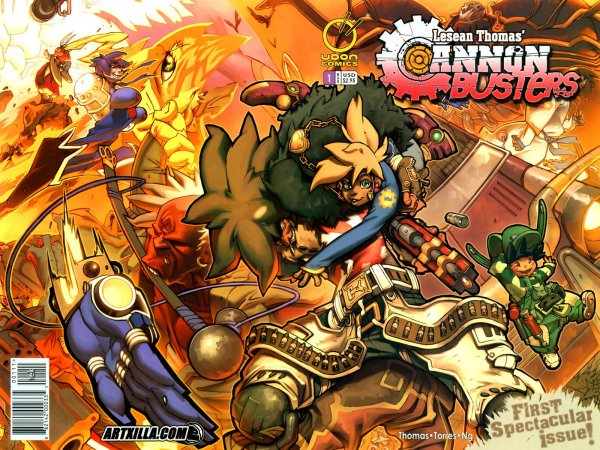 Cannon Busters #1