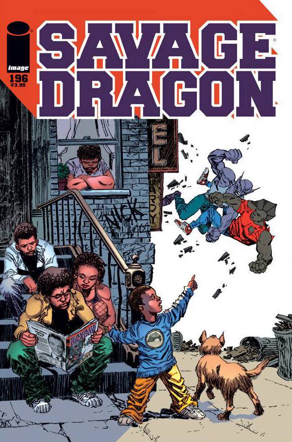 Savage Dragon #196