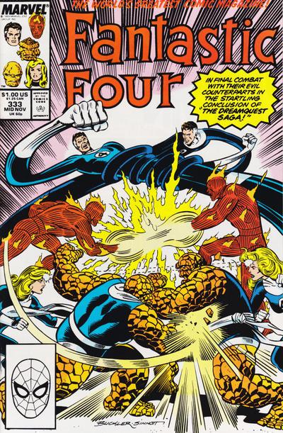 Fantastic Four #333