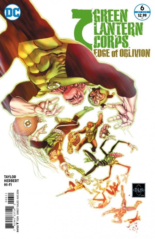 Green Lantern Corps: Edge of Oblivion #6