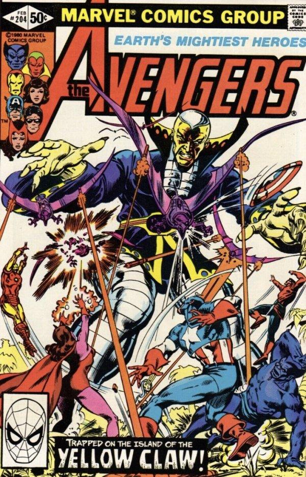 The Avengers #204