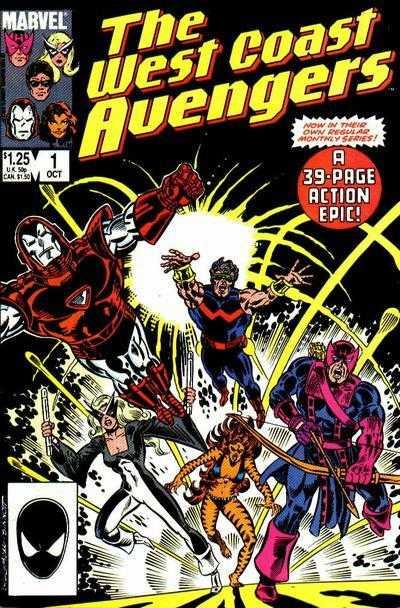 The West Coast Avengers #1