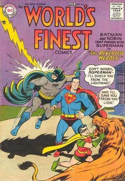 World's Finest Comics #87