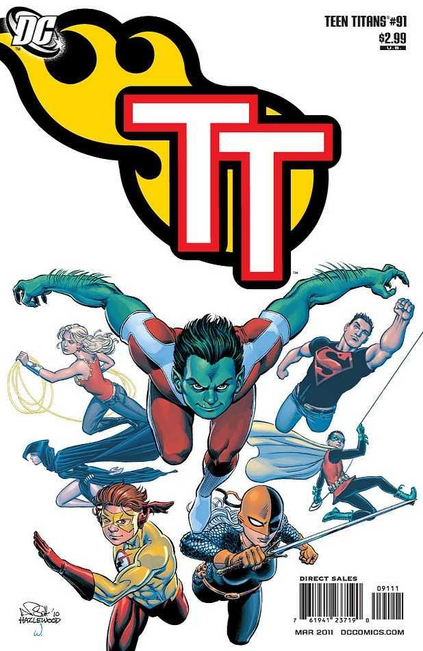 Teen Titans #91