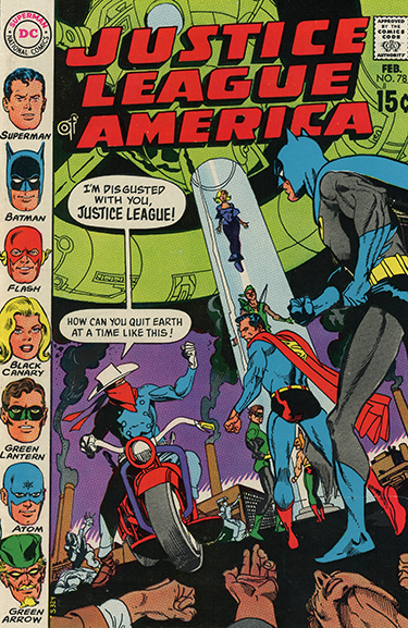 Justice League of America #78